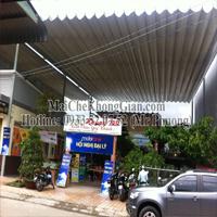 Mái Che,Mái Che Bạt Xếp-Quán Ẩm Thực HAPPY BILL. Đường Nguyễn Văn Lo, Thị Xã Cai Lậy, Tiền Giang.