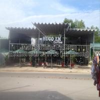 Mái Che, Mái Che Bạt Xếp-Quán Cà Phê HuGo. Khu Công Nghiệp, Trảng Bàng, Tây Ninh
