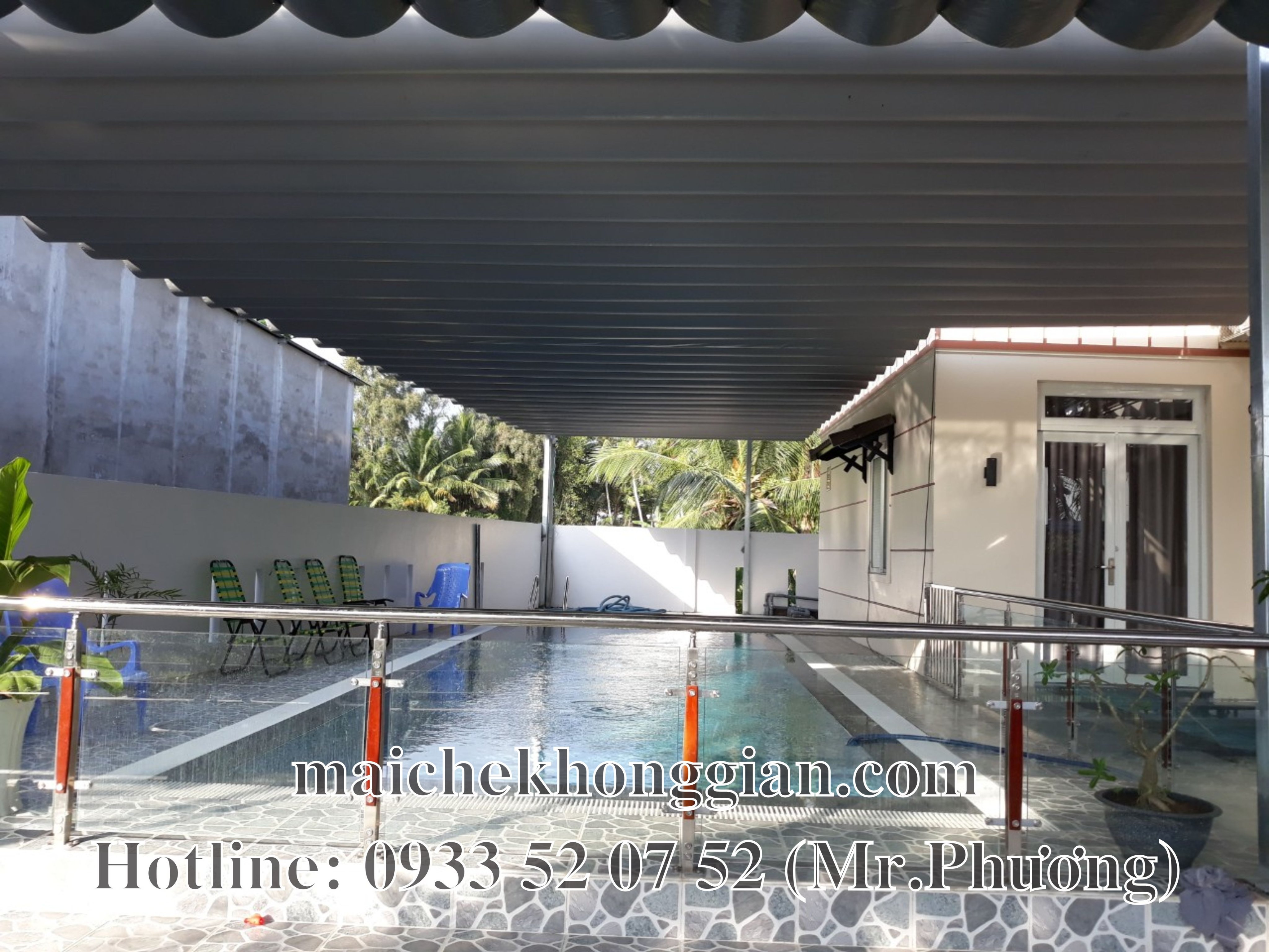 Mái Che Hồ Bơi Chợ Gạo Tiền Giang