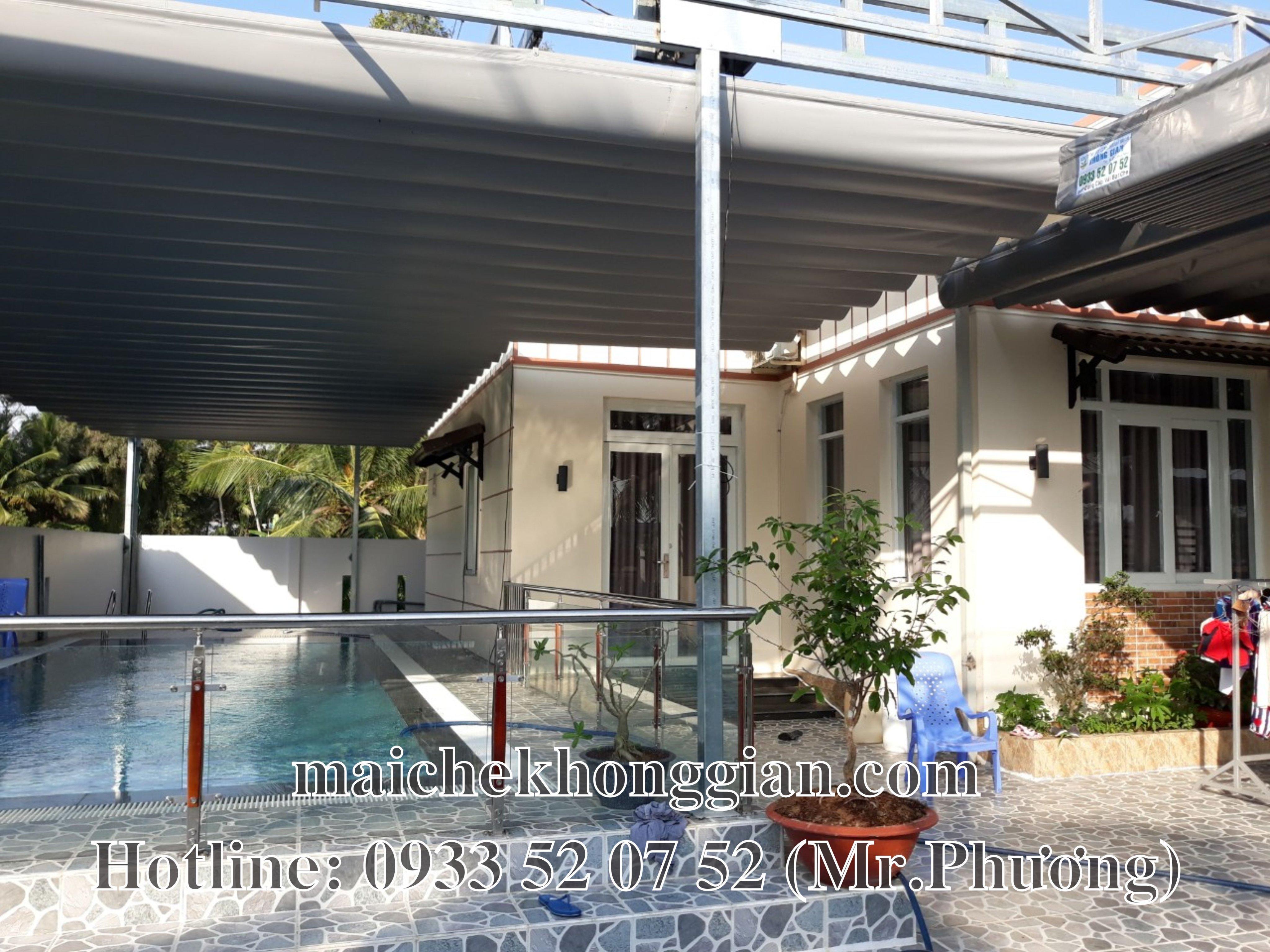 Mái Che Hồ Bơi Huyện Trần Đề Sóc Trăng