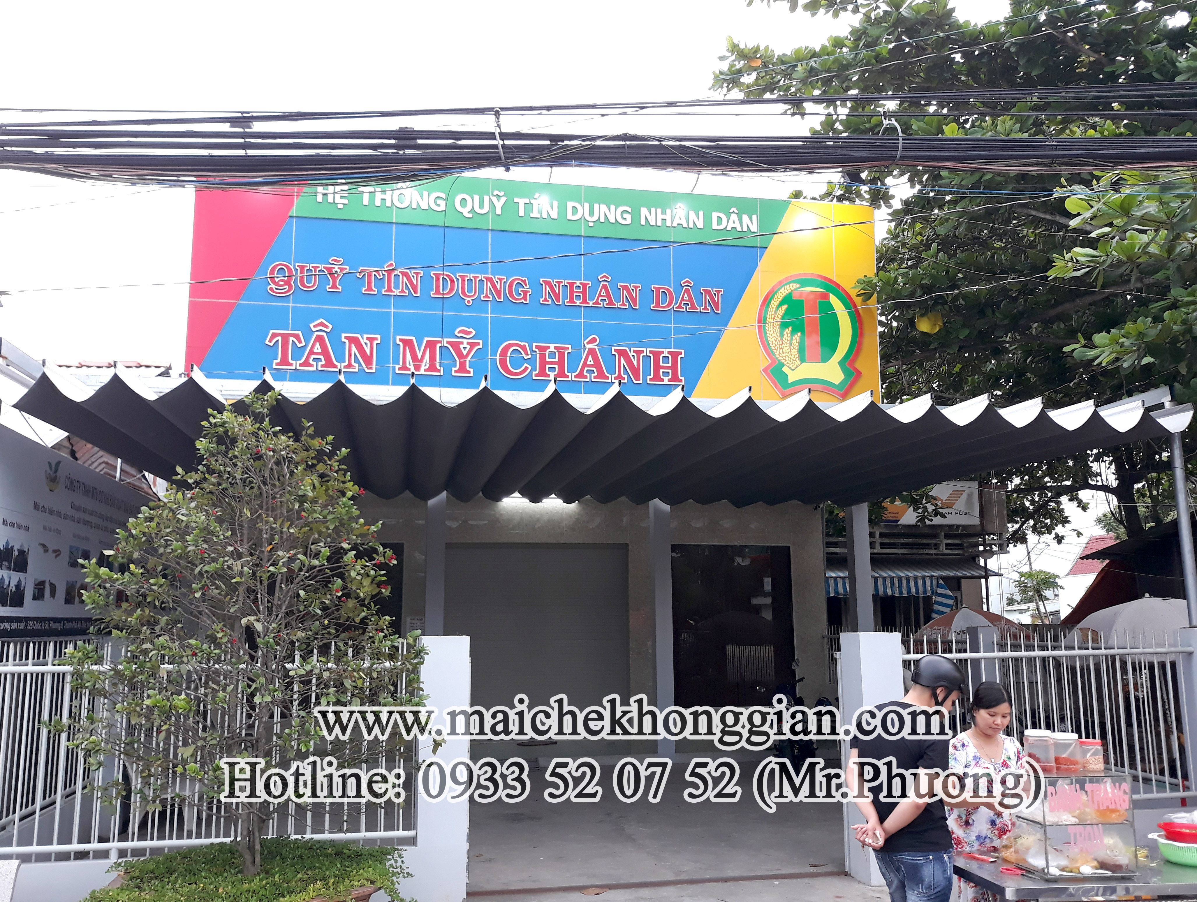Mái Che Ngân Hàng Huyện Phong Điền Cần Thơ