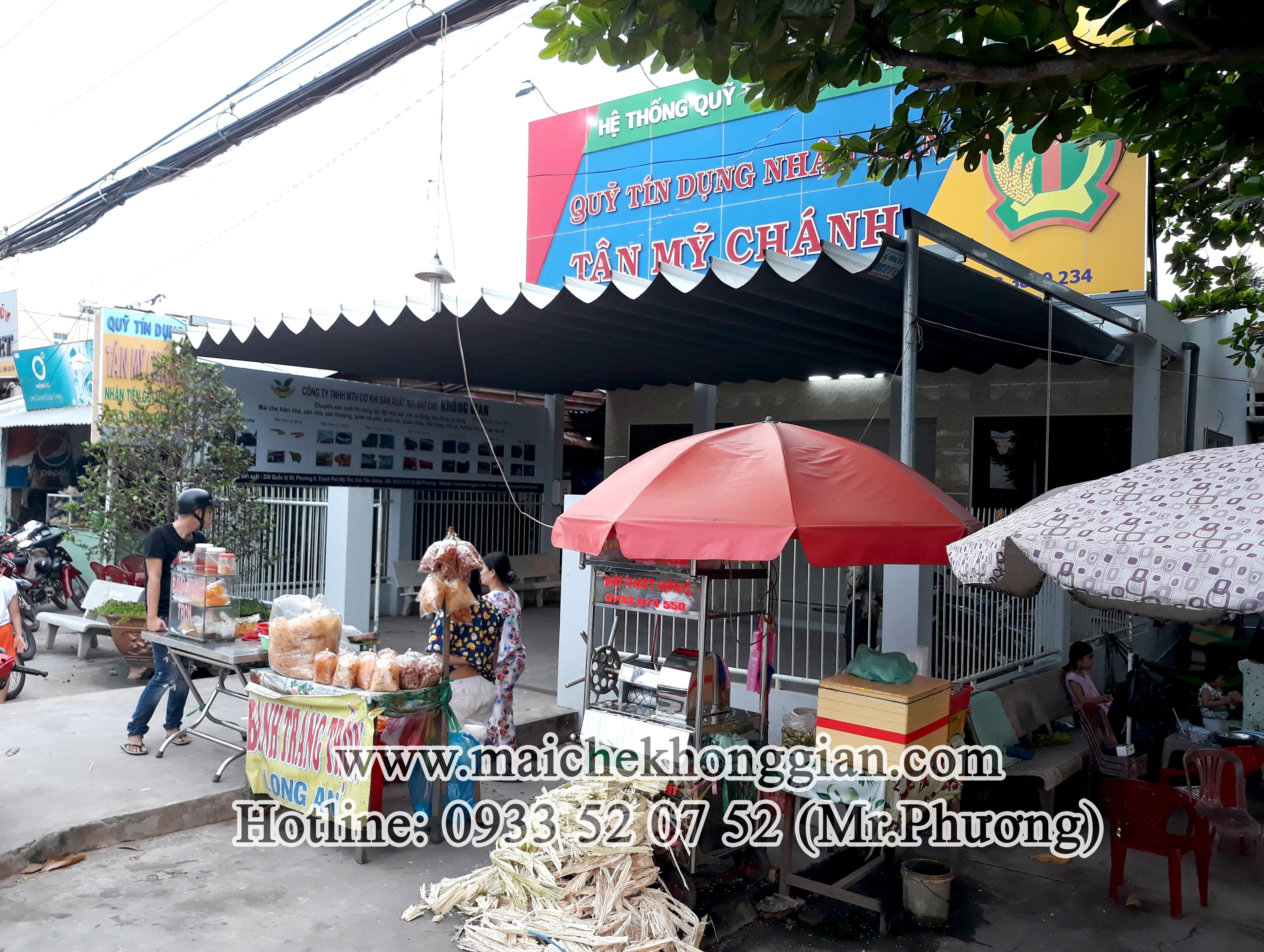 Mái Che Ngân Hàng Tân Phú Đông Tiền Giang
