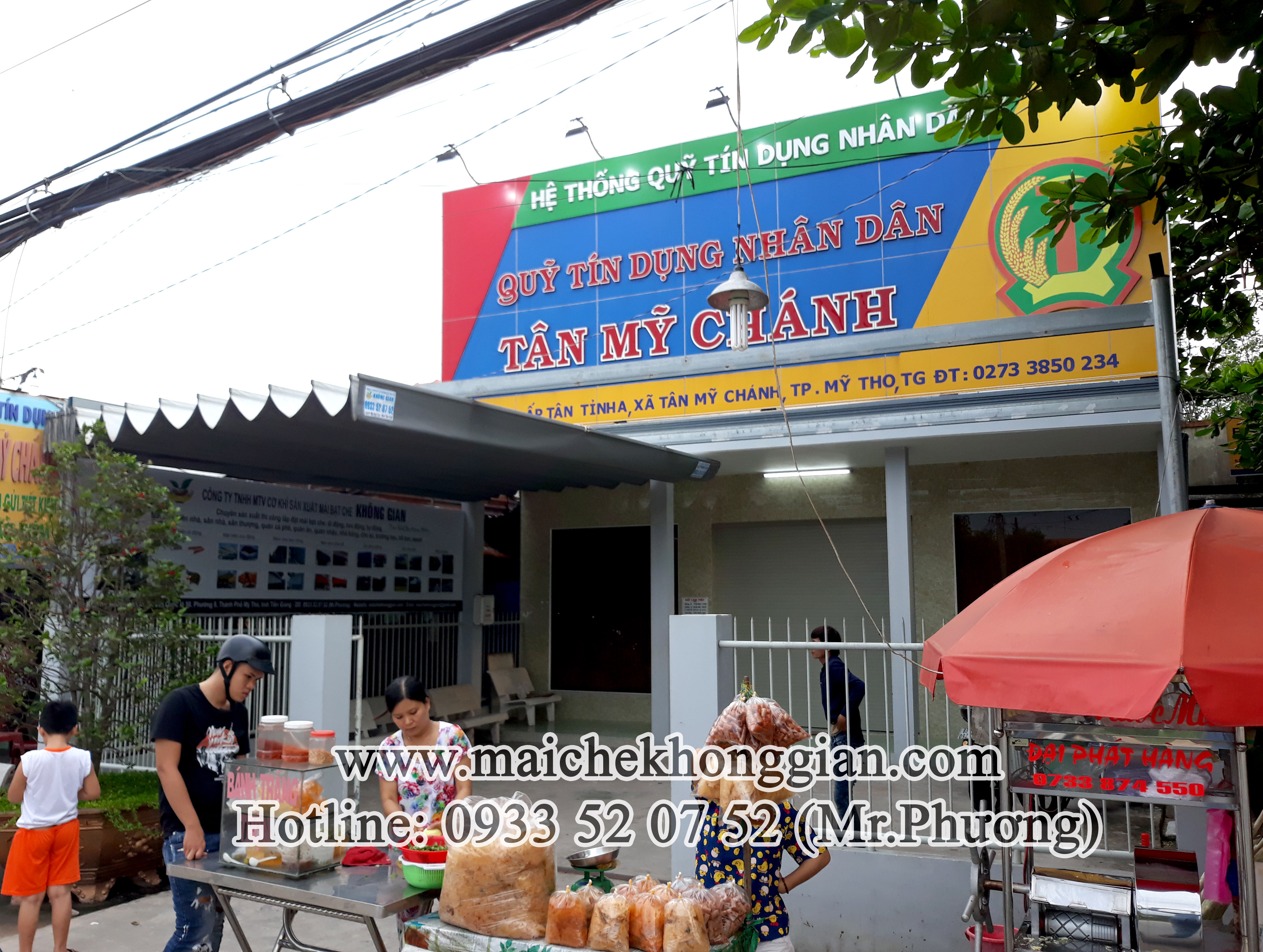 Mái Che Ngân Hàng Huyện Tam Bình Vĩnh Long