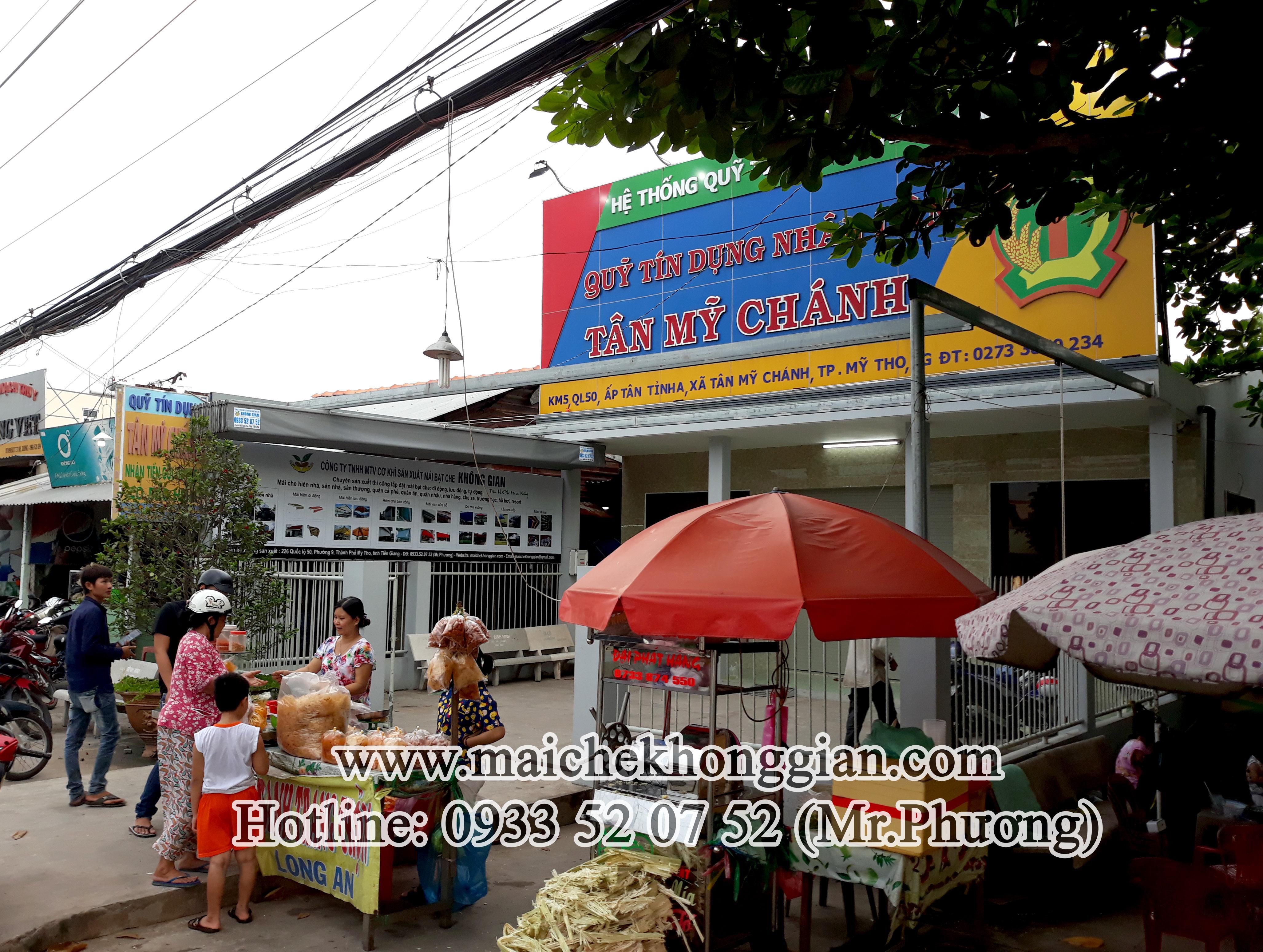 Mái Che Ngân Hàng Huyện Thạnh Trị Sóc Trăng