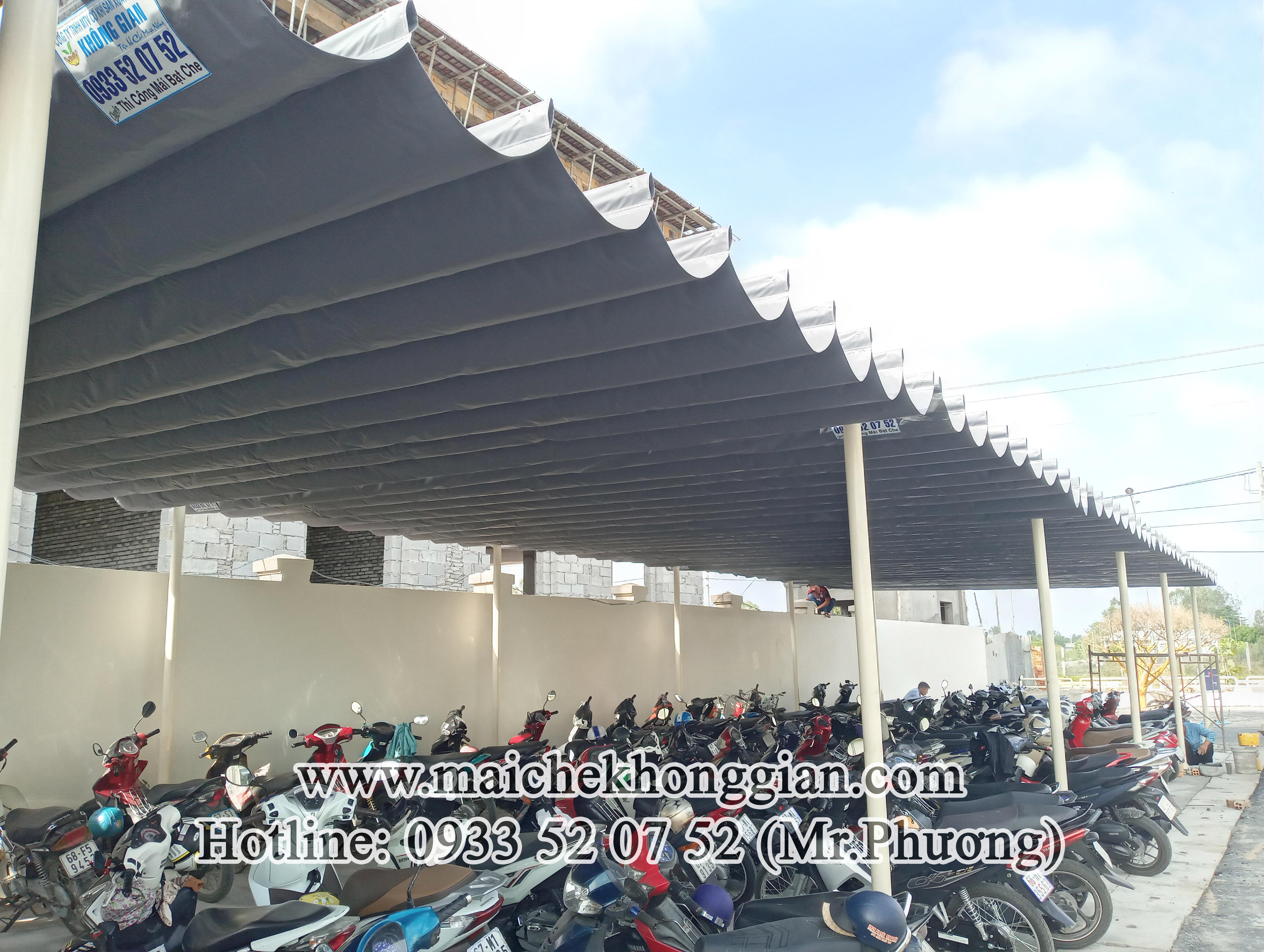 Mái Che Giữ Xe Huyện Long Phú Sóc Trăng